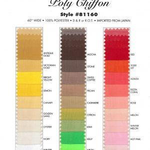 Polyester Chiffon (#81160)